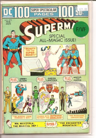 Superman # 272, 7.0 FN/VF