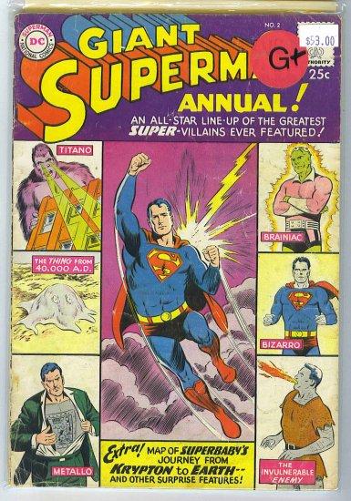 Superman Annual # 2, 2.5 GD +