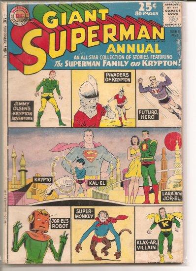 Superman Annual # 5, 2.5 GD +