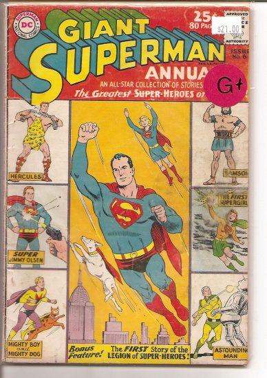 Superman Annual # 6, 2.5 GD +