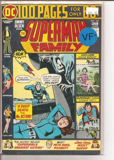 Superman Family # 167, 7.5 VF -
