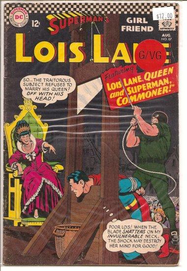 Superman's Girlfriend Lois Lane # 67, 3.0 GD/VG