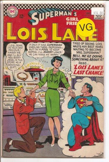 Superman's Girlfriend Lois Lane # 69, 4.0 VG