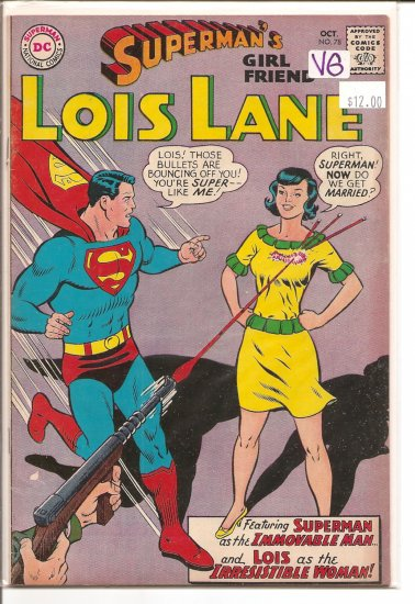 Superman's Girlfriend Lois Lane # 78, 4.0 VG