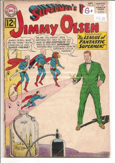 Superman's Pal Jimmy Olsen # 63, 2.5 GD +