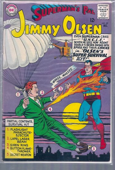 Superman's Pal Jimmy Olsen # 89, 5.5 FN -