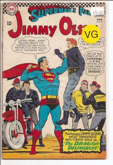 Superman's Pal Jimmy Olsen # 91, 4.0 VG