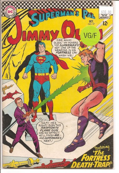 Superman's Pal Jimmy Olsen # 97, 5.0 VG/FN