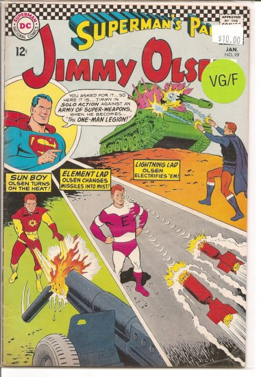 Superman's Pal Jimmy Olsen # 99, 5.0 VG/FN
