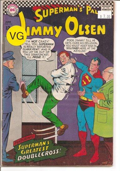 Superman's Pal Jimmy Olsen # 102, 4.0 VG