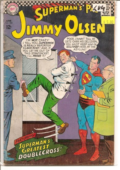Superman's Pal Jimmy Olsen # 102, 3.0 GD/VG