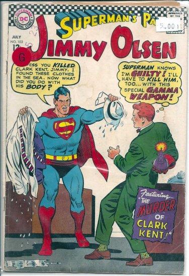 Superman's Pal Jimmy Olsen # 103, 2.0 GD