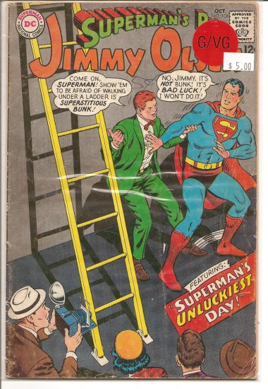 Superman's Pal Jimmy Olsen # 106, 3.0 GD/VG