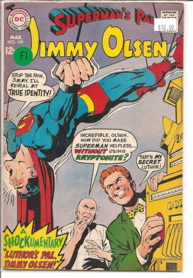Superman's Pal Jimmy Olsen # 109, 6.0 FN