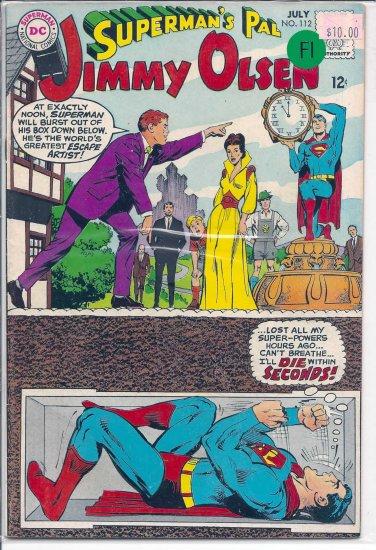 Superman's Pal Jimmy Olsen # 112, 6.0 FN