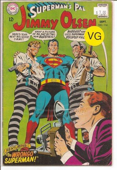 Superman's Pal Jimmy Olsen # 114, 4.0 VG