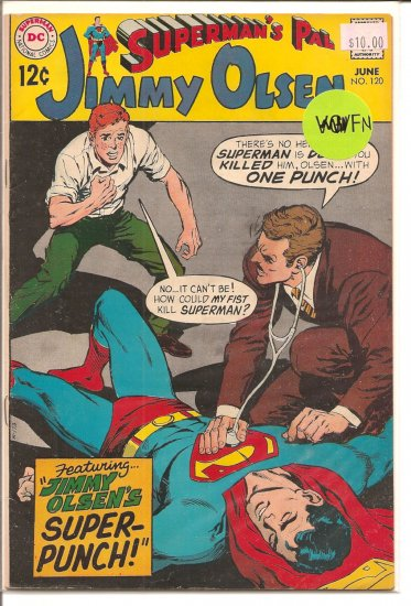 Superman's Pal Jimmy Olsen # 120, 6.0 FN