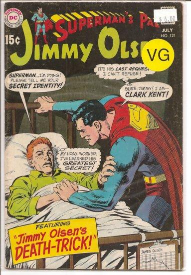 Superman's Pal Jimmy Olsen # 121, 4.0 VG