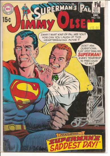 Superman's Pal Jimmy Olsen # 125, 6.0 FN