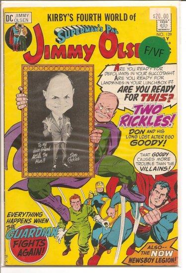 Superman's Pal Jimmy Olsen # 139, 7.0 FN/VF