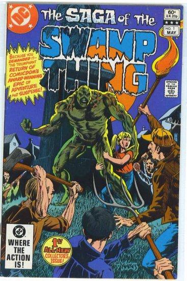 Swamp Thing # 1, 4.5 VG +