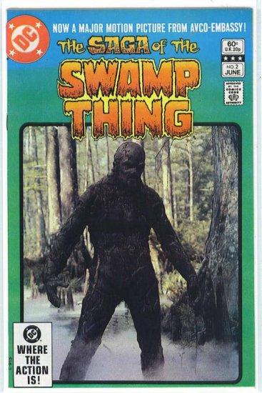 Swamp Thing # 2, 6.0 FN