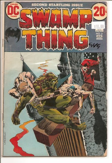 Swamp Thing # 2, 3.0 GD/VG