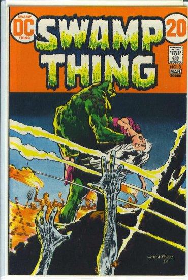 Swamp Thing # 3, 6.5 FN +