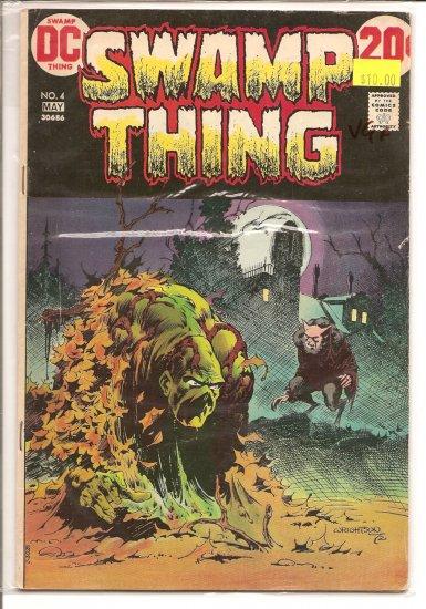 Swamp Thing # 4, 4.5 VG +