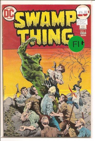 Swamp Thing # 5, 6.5 FN +