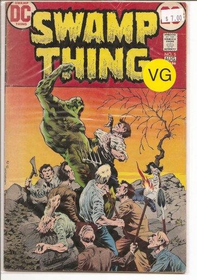 Swamp Thing # 5, 4.0 VG