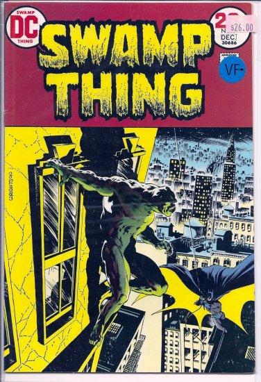 Swamp Thing # 7, 7.5 VF -