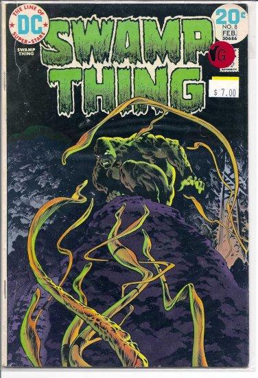 Swamp Thing # 8, 4.0 VG