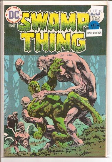 Swamp Thing # 10, 7.5 VF -