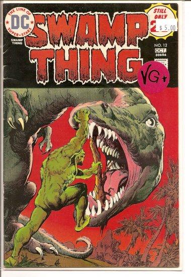 Swamp Thing # 12, 4.5 VG +