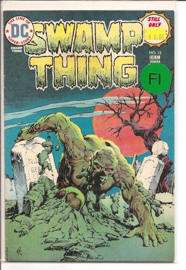 Swamp Thing # 13, 6.0 FN