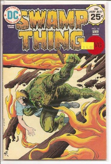 Swamp Thing # 14, 4.0 VG