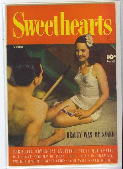 Sweethearts # 68, 4.5 VG +