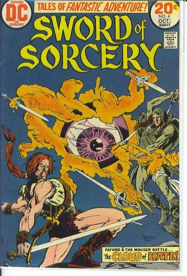 Sword Of Sorcery # 4, 5.5 FN -