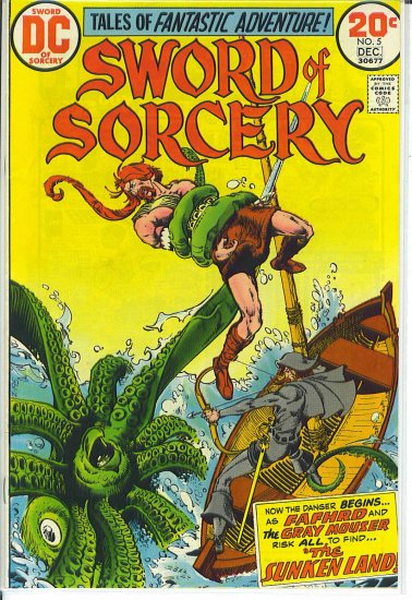 Sword Of Sorcery # 5, 5.5 FN -