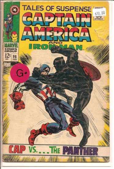 Tales of Suspense # 98, 2.5 GD +