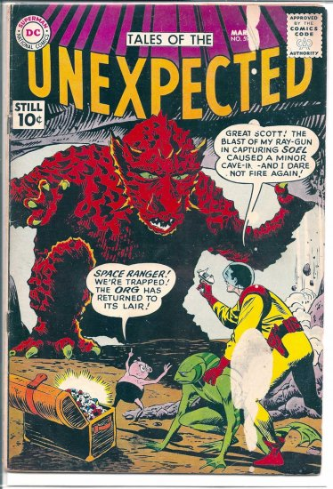 TALES OF THE UNEXPECTED # 59, 3.5 VG -