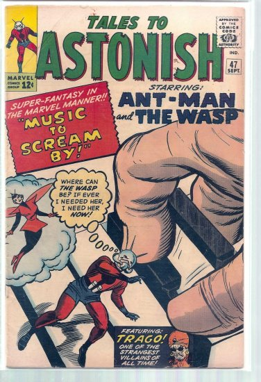 TALES TO ASTONISH # 47, 4.0 VG
