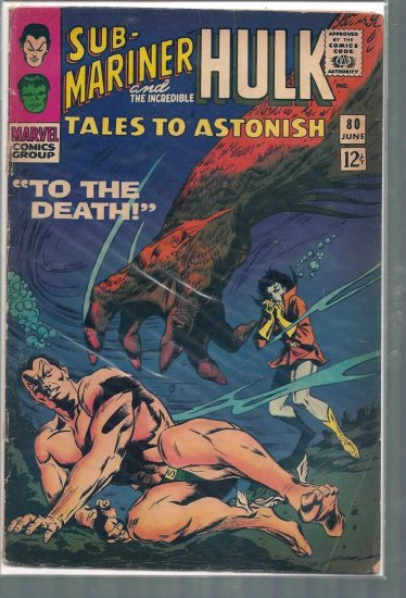 TALES TO ASTONISH # 80, 1.8 GD -