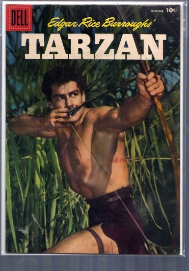 TARZAN # 84, 4.5 VG +