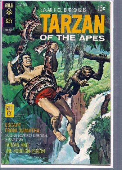TARZAN # 193, 4.5 VG +