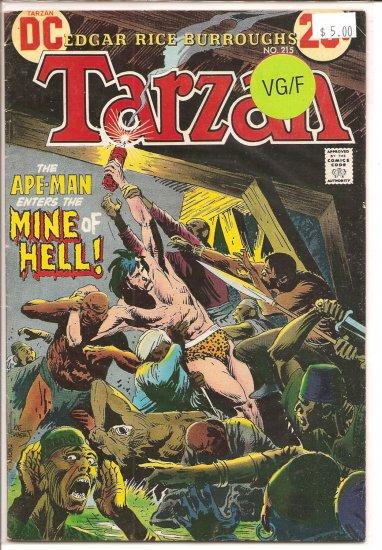Tarzan # 215, 5.0 VG/FN