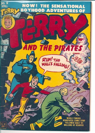 TERRY AND THE PIRATES # 9, 3.5 VG -