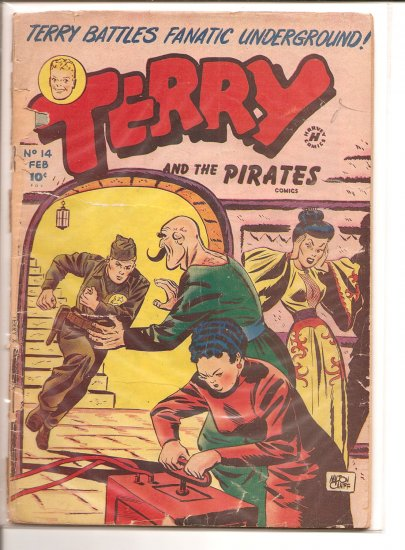 TERRY AND THE PIRATES # 14, 1.0 FR