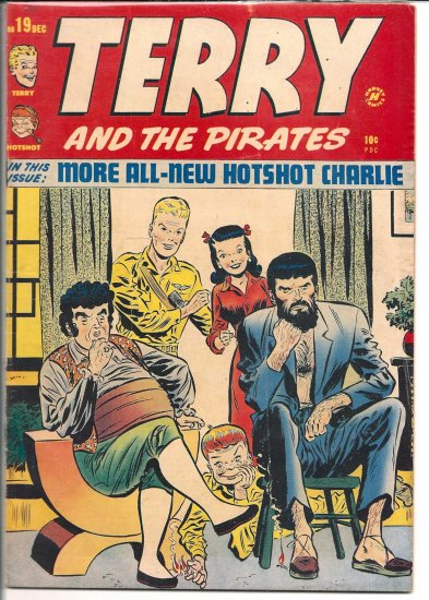 TERRY AND THE PIRATES # 19, 4.0 VG